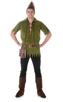 Peter Pan Neverland Boy Adult Costume