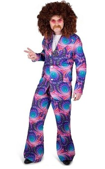 Boho Hippy Suit Adult Costume