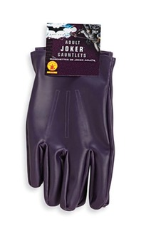 The Joker Adult Batman Gloves