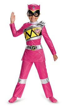 Pink Power Ranger Dino Charge Child Deluxe Costume