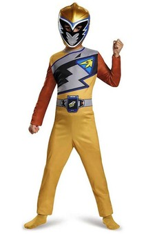 Gold Power Ranger Dino Charge Child Costume