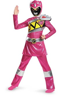 Deluxe Pink Power Ranger Dino Charge Child Costume
