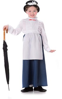 Mary Poppins Victorian Nanny Childs Costume