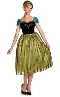 Deluxe Princess Anna Coronation Adult Costume