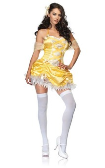 Belle Beauty & the Beast Sexy Costume