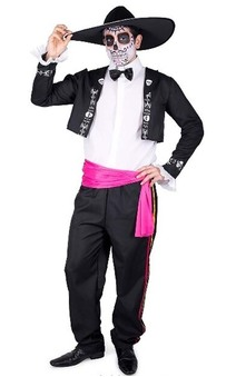 El Mariachi Suit Day Of The Dead Adult Costume