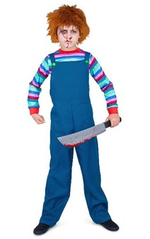 Evil Puppet Boy Chucky Child Costume