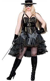 Beautiful Bandito Elite Collection Adult Plus Costume