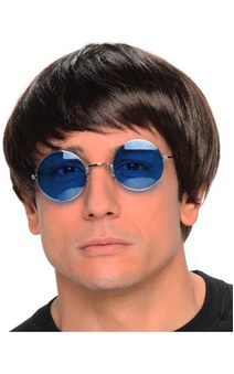 John Lennon Beatles Adult Wig And Glasses