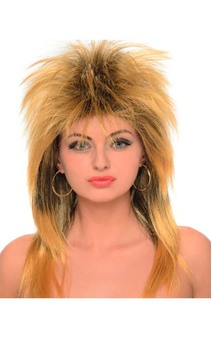 Tina Turner Adult Rocker Wig
