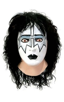Spaceman KISS Adult Costume Mask