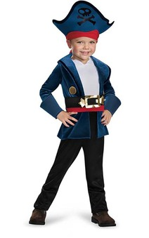 Captain Jake Never Land Pirates Child & Toddler Costume