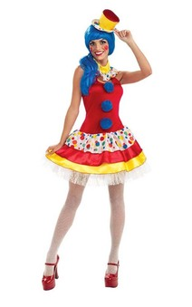 Giggles the Clown Sexy Adult Costume