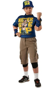 John Cena Muscle Wwe Wrestler Child Costume