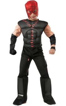 Deluxe Kane Wwe Wrestler Child Muscle Costume