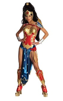 ANIME COSPLAY WONDER WOMAN SEXY ADULT COSTUME