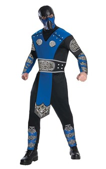 Subzero Mortal Kombat Adult Costume