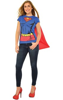 Supergirl Adult T-shirt