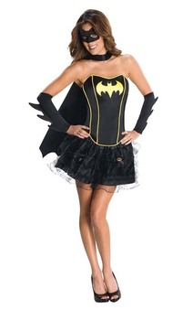 Batgirl Batman Sexy Corset Adult Costume
