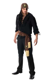 Swashbuckler Rogue Pirate Adult Costume