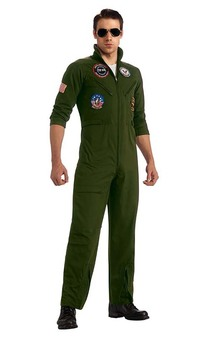 Top Gun Adult Flight Suit Costume