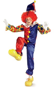 Bubbles the Clown Child Costume
