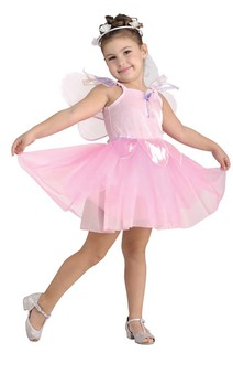 Pretty Pink Fairy Princess Ballerina Child Costume