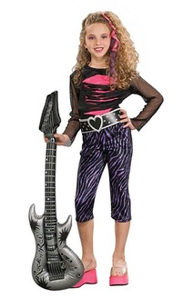 80s Rock Pop Star Madonna Cindy Lauper Child Costume