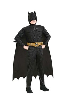 Batman Super Hero Deluxe Child Costume