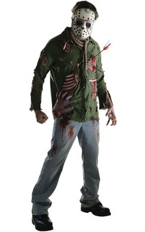Deluxe Jason Voorhees Adult Friday The 13th Costume