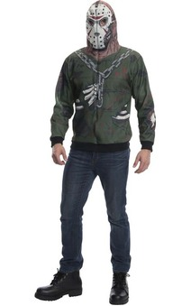 Jason Voorhees Adult Friday The 13th Hoodie