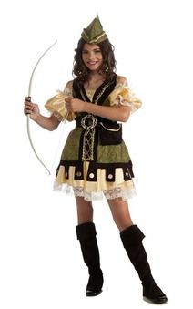 Robin Hood Child Girls Costume