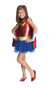 Wonder Woman Child Toddler Superhero Costume