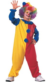 Clown Circus Child Costume