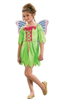 Fairy dress + Wings Child Costume