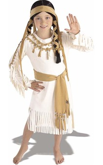 Native American Indian Princess Pocahontas Child Costume