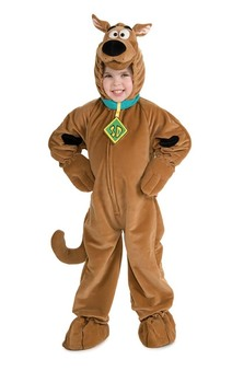 Scooby Doo Deluxe Dog Animal Child Costume