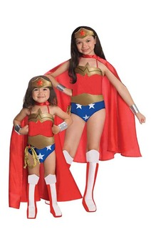 Wonder Woman Deluxe Toddler Costume