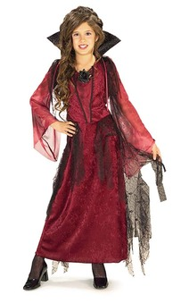 Gothic Vampiress Child Costume