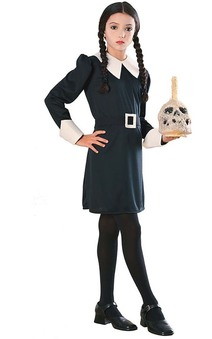 Wednesday Addams Child Costume