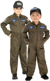 Air Force Figher Pilot RAAF Aviator Child Costume