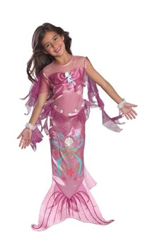 Pink Magical Mermaid Child Toddler Fish Costume