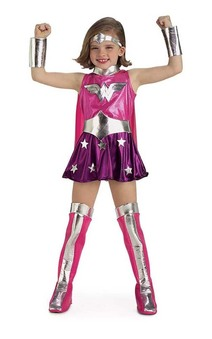 Wonder Woman Pink Child Costume