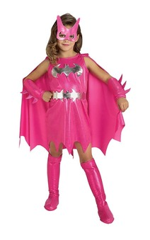 Batgirl Batman Pink Child Costume