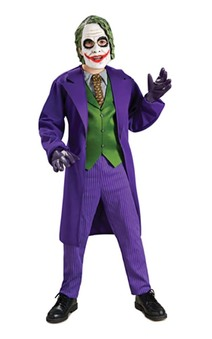 The Joker Deluxe Batman Dark Knight Child Costume