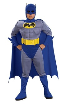 Batman Deluxe Classic Muscle Chest Child Costume