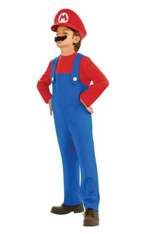 Mario Super Mario Bros Child Costume
