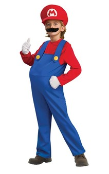 Deluxe Mario Super Mario Bros Child Costume