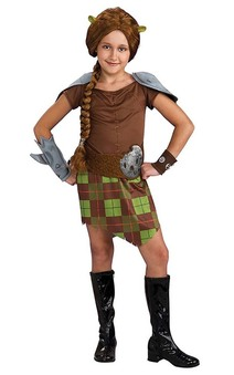 Shrek Forever After - Fiona Warrior Child Costume