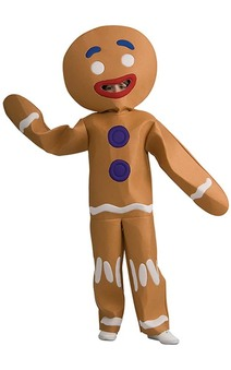 Gingerbread Man Shrek Child Costume